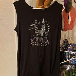Disney Parks Star War sleeveless shirt
